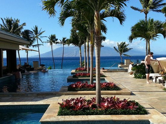 Four Seasons Resort Maui at Wailea:                   Adult pool area.  It is to die for!
