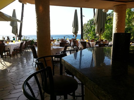 Four Seasons Resort Maui at Wailea:                   View from Ferraro's