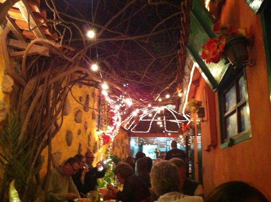 Chez Pastis:                   The whole restaurant!