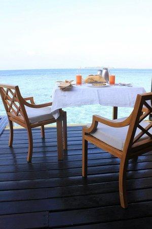 Adaaran Prestige Vadoo:                                     Room service