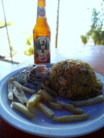 Fiesta del Mariscos:                                     Rice & Seafood Dish
