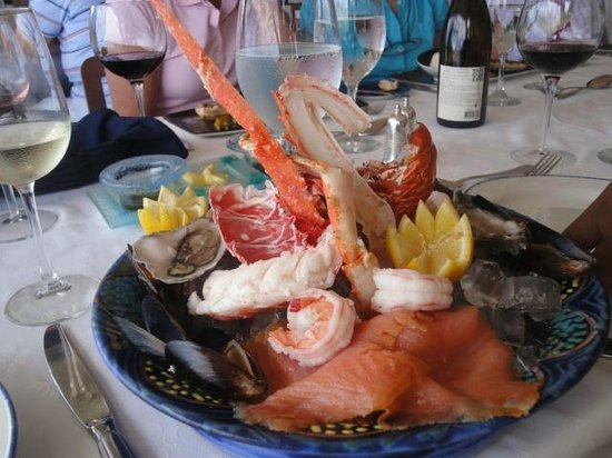 how to make a cold seafood platter