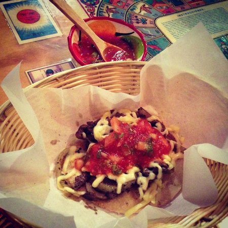 Jalapenos Mexican Grill: Starters - Bistec con Oueso - Beef & Cheese Taco