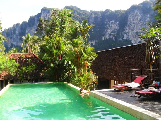The Cliff Ao Nang Resort:                   Felt like our own private pool ^_^