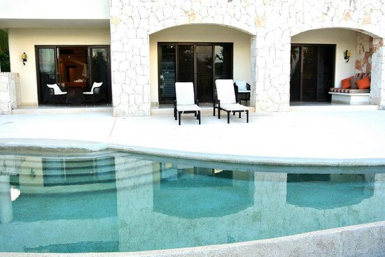 Secrets Maroma Beach Riviera Cancun:                   View of Presidential Suite- Includes all 3 entranceways