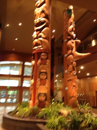Tulalip Resort Casino:                   Around the Front Entrance
