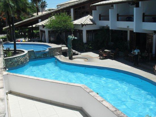 Poty Praia Hotel:                   Vista desde la terraza