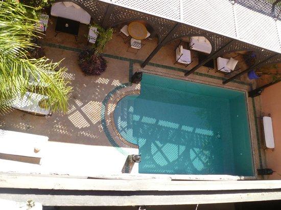 Villa Amira et SPA:                   view from room