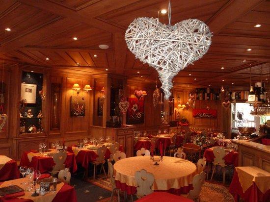 Notre restaurant pour la Saint Valentin - Picture of Hotel ...