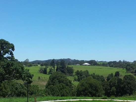Maleny Grove:                   View from villa
