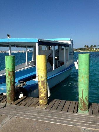 Hotel Riu Palace Paradise Island:                   Water ferry to Nassau