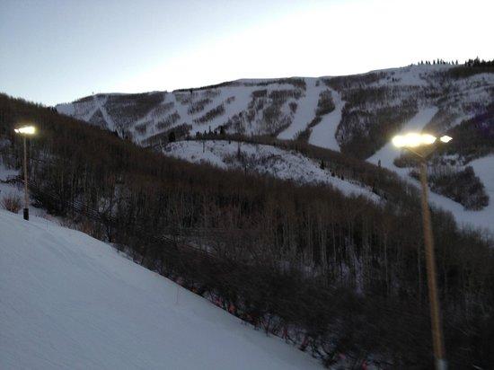 Marriott's MountainSide:                   Night skiing