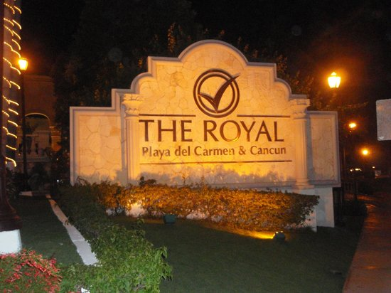 The Royal Playa del Carmen:                   Hotel