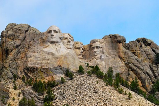 Keystone, Dakota del Sur:                   Mount Rushmore