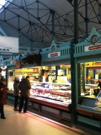 Kauppahalli:                   Meats