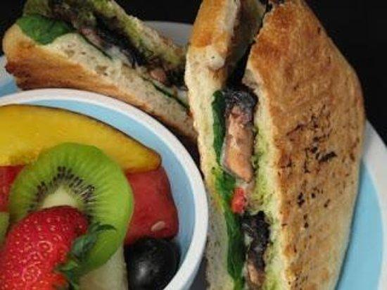 Jozoara Coffee Shop:                                     Mushroom Panini