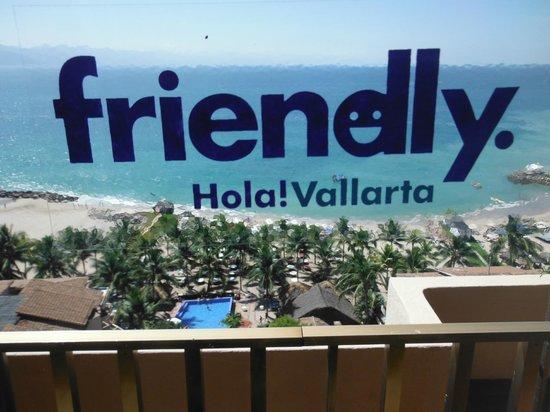 Friendly Vallarta All Inclusive Family Resort:                   Vista desde el piso 12