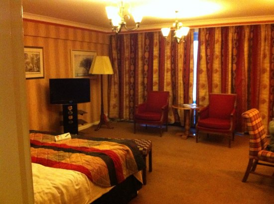 The Imperial Hotel:                   Main bedroom area- massive