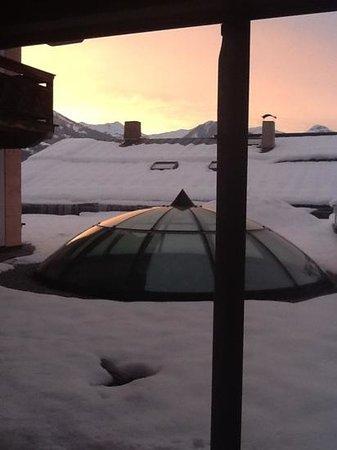 Weisses Rossl:                   foto dalla camera hotel