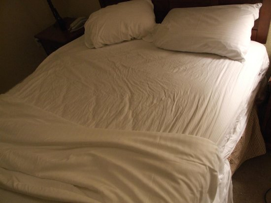 Reunion Resort of Orlando:                   Bed sheets before we slept in the bed