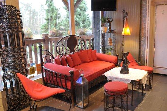 Hotel Restaurant les Pins : Salon réception