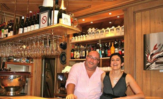 Hotel Restaurant les Pins : Eric et Elisabeth