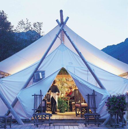 Clayoquot Wilderness Resort:                   exterior