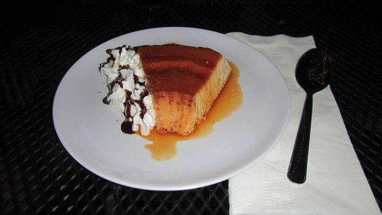 Cocina Creativa:                   our flan was so good, we went back 2 days later for more!