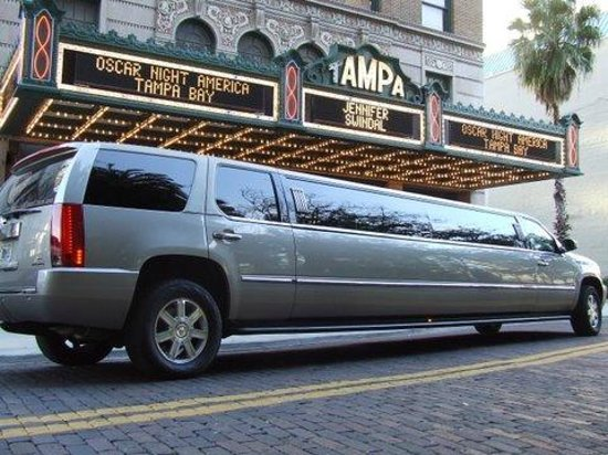 OSCAR Experience 2013 at Tampa Theatre-Limousine ride