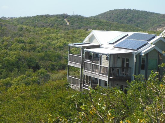 Concordia Eco-Resort :                   A17 perched on the hillside