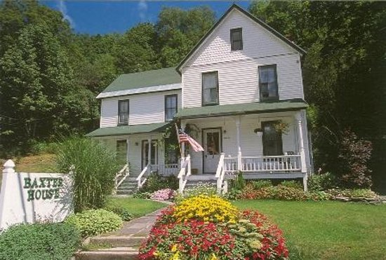 roscoe ny is trout town and the baxter house is its inn review of baxter house country style. Black Bedroom Furniture Sets. Home Design Ideas