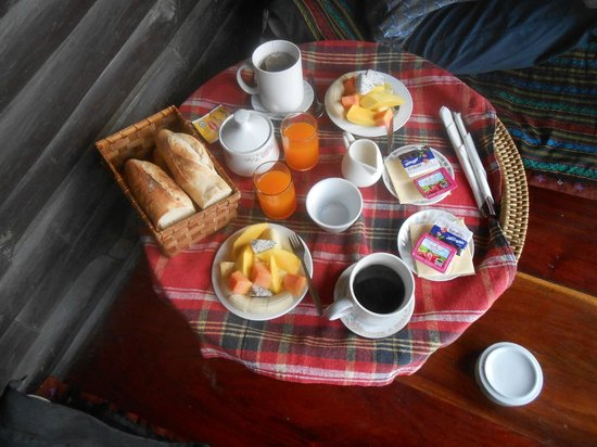 Thongbay Guesthouse:                   Petit dej