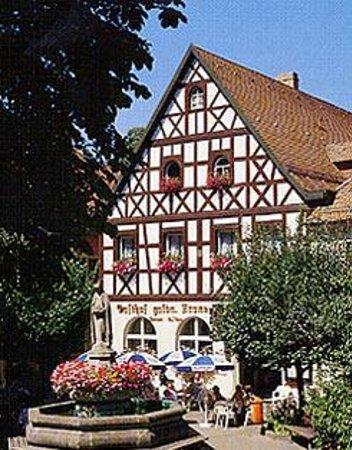 Gasthof Goldene Krone mit Gaestehaus Reussenmuehle