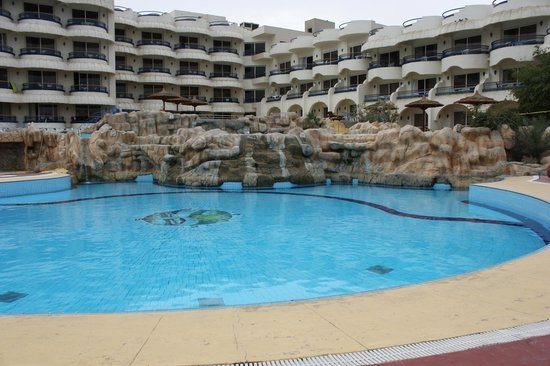 Hurghada SeaGull Beach Resort:                   вид на отель