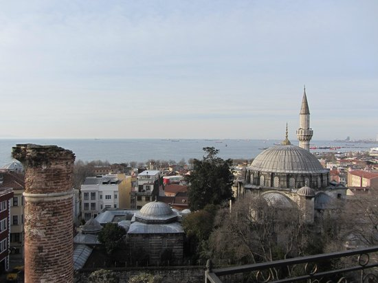 Ada Hotel Istanbul:                   Roof top view