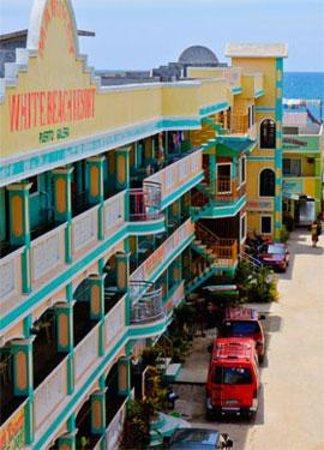 منتجع شاطئ وايت: Hotel facade