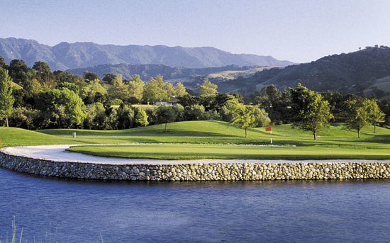 Alisal Guest Ranch Golf Course In Solvang Ca Picture Of