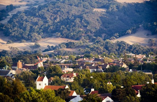 Mountains in Solvang & the Santa Ynez Valley