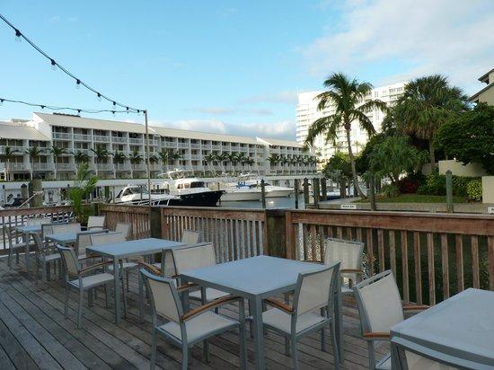 Hilton Fort Lauderdale Marina:                   WallkWay