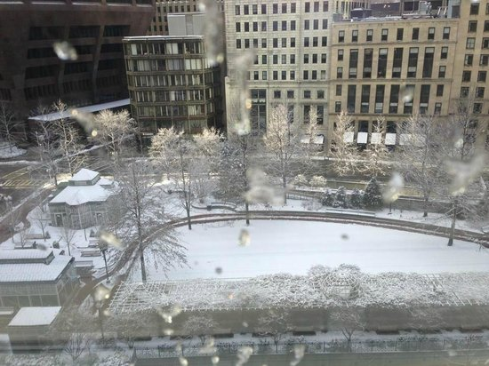 The Langham, Boston :                   View from my window
