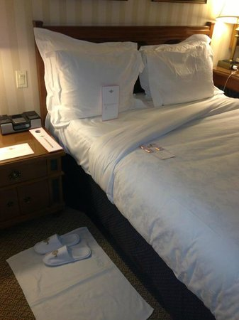 The Langham, Boston:                   After turndown