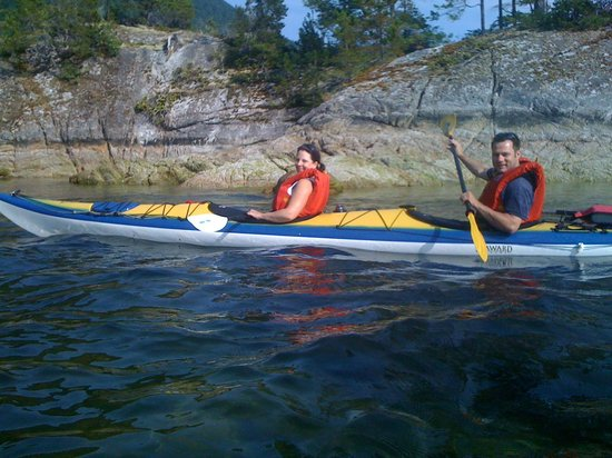 The Tuwanek Hotel: Sea Kayaking in Sechelt Inlet