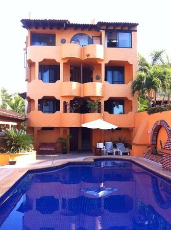 Villas Miramar:                   Rooms & Pool, Ocean Side