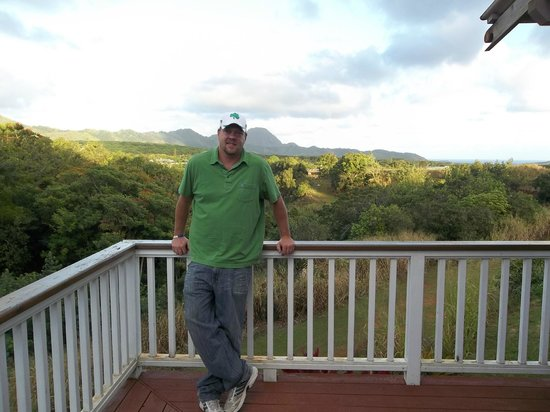 Kauai Banyan Inn:                   Balcony view