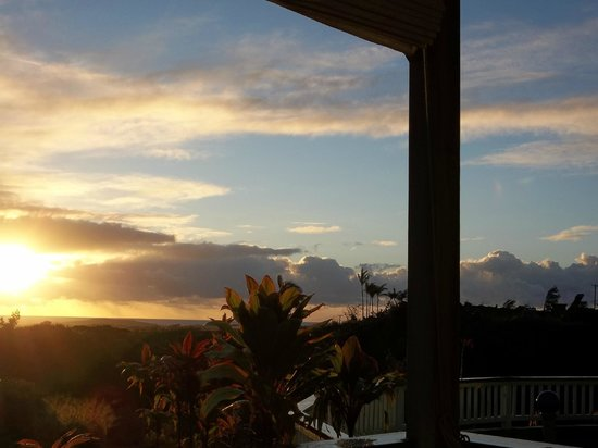 Kauai Banyan Inn:                   Awesome sunrises!