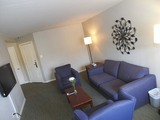 Hotel Dorval - Beausejour Apartments : Living room one-two bedroom apartments