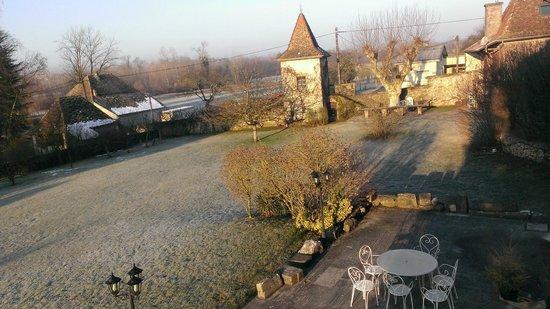 Domaine Du Manoir:                   jardin à la fraiche