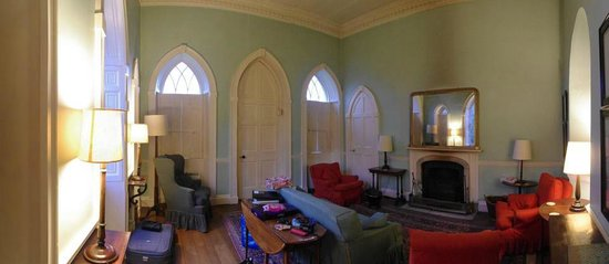Clytha Castle:                   Living Room