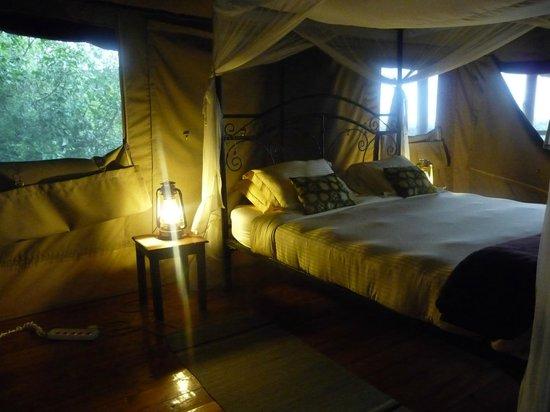 Tarangire River Camp:                   Bed