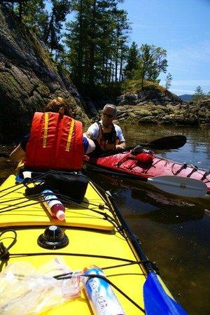 Sea Kayaking Tours at The Tuwanek Hotel and Spa